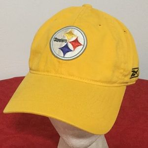 Pittsburgh Steelers NFL REEBOK YELLOW CAP HAT